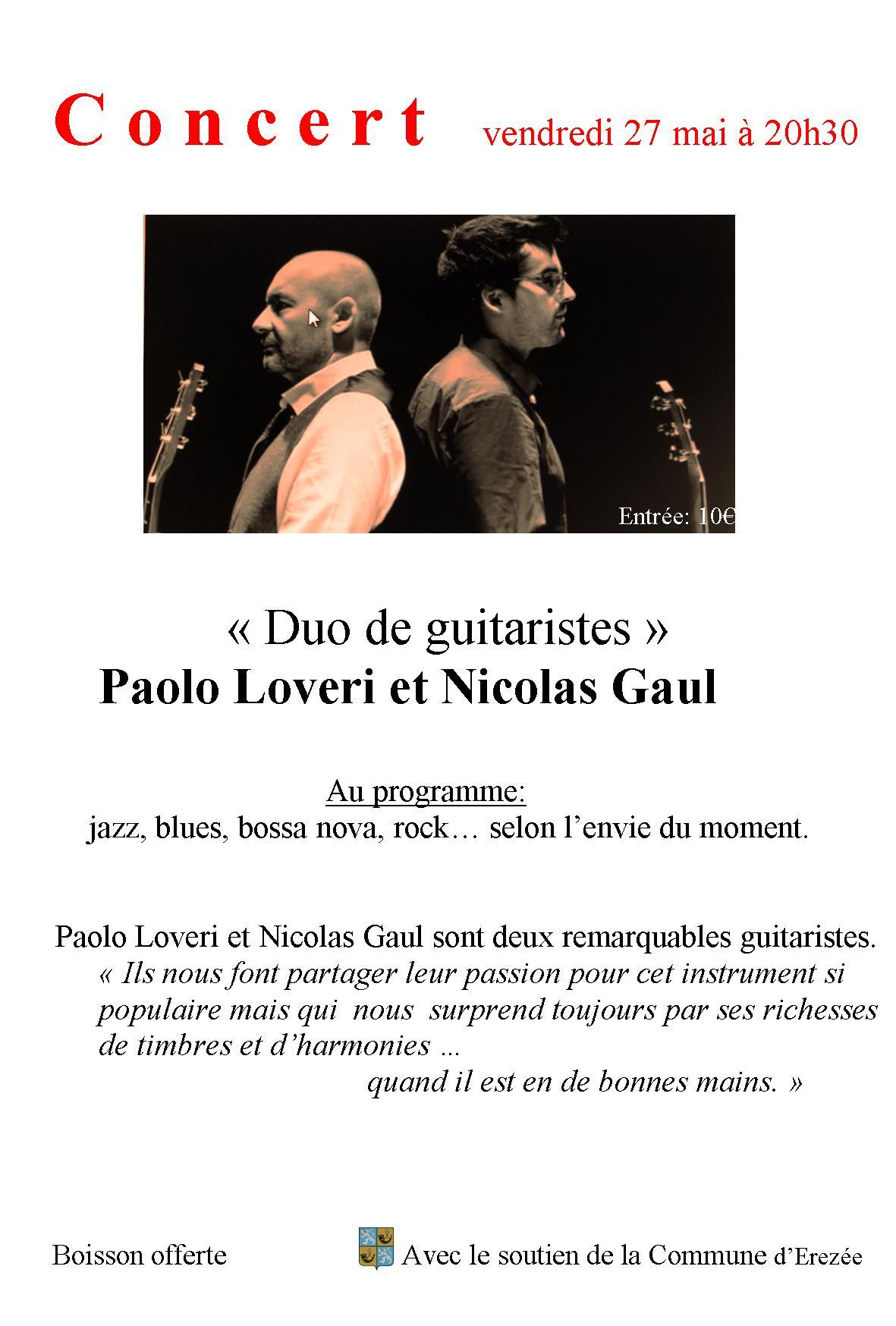 invitation au concert